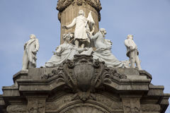 对独立的天使纪念碑在墨西哥DF 库存图片