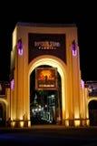 对环球影业的入口,奥兰多, FL 免版税库存照片