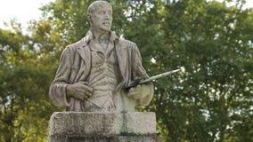 对画家伊廖齐Zuloaga的纪念碑艺术外博物馆在毕尔巴鄂,西班牙 影视素材