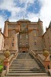 对的城堡 免版税库存图片