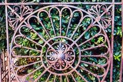 对皇家庭院或Giardinetti Reali的门 免版税库存图片