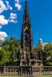 对皇帝弗朗兹的哥特式纪念碑我 库存图片