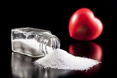 对盐的爱 免版税库存图片