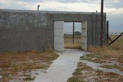 对监狱的门 库存照片
