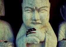 对神雕象的礼物,菩萨伊甸园 免版税图库摄影