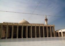 对科威特盛大清真寺科威特城,科威特的外视图 免版税库存照片