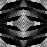 对称反复性的滤网,与被反映的geome的栅格背景 向量例证