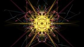 对称和五颜六色的设计 数字式图表 向量例证
