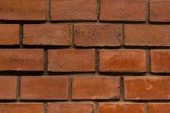 对称水平的垂直条纹灰色水泥砖砌棕色长方形块特写镜头行排行不尽的都市样式 免版税图库摄影