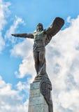对空气的英雄的纪念碑在布加勒斯特,罗马尼亚 图库摄影