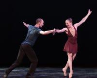 对笑古典芭蕾` Austen汇集` 免版税库存照片