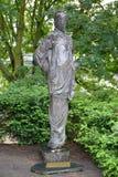 对第一和第二次世界大战的所有受害者的纪念碑在钾的 免版税库存照片