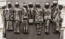 对第二次世界大战的妇女的纪念碑 库存照片