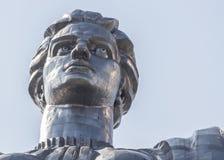 对第二次世界大战的战士的纪念碑在基辅 免版税库存照片