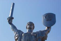 对第二次世界大战的战士的纪念碑在基辅 免版税库存图片