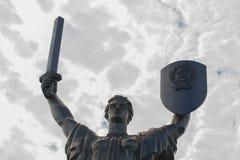 对第二次世界大战的战士的纪念碑在基辅 库存图片