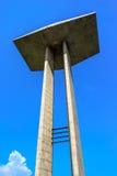 对第二次世界大战的死者的国家历史文物在弗拉门戈队公园,里约热内卢 免版税图库摄影