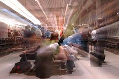 对等待的董事会飞机 免版税库存图片
