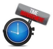 对管理的时间。 免版税库存图片