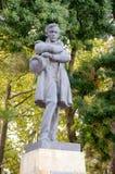 对米哈伊尔・莱蒙托夫的纪念碑 Gelendzhik 库存照片
