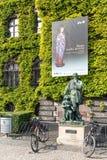 对米开朗基罗Buonarotti的纪念碑 图库摄影