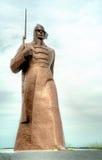对红军,斯塔夫罗波尔的纪念碑 俄国 免版税库存图片