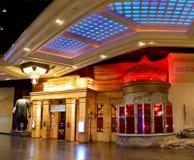 对红场伏特加酒酒吧的入口在曼德勒海湾手段在L 免版税库存图片