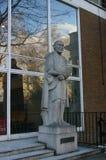 对罗伯特贝登堡,伦敦,英国的雕象 免版税库存照片