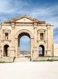 对罗马废墟的门户 免版税库存图片