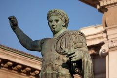 对罗马皇帝康斯坦丁的纪念碑我 免版税库存图片