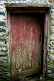 对老农舍的进口 免版税库存照片