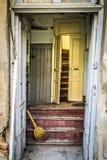 对老房子的入口 免版税库存照片