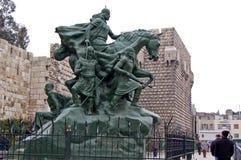 对胜利的纪念碑在大马士革,叙利亚 库存图片