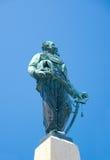 对胜者伊曼纽尔的纪念碑II (1894),圣马尔盖里塔利古雷, 图库摄影