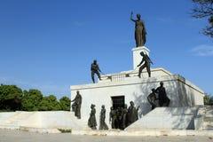 对自由的纪念碑 免版税库存图片