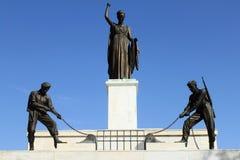 对自由的纪念碑 图库摄影