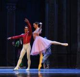 对舞蹈的邀请第二个行动第二领域糖果王国-芭蕾胡桃钳 免版税图库摄影