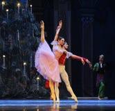 对舞蹈的邀请第二个行动第二领域糖果王国-芭蕾胡桃钳 库存图片