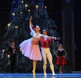 对舞蹈的邀请第二个行动第二领域糖果王国-芭蕾胡桃钳 免版税库存图片