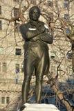 对苏格兰诗人罗伯特・伯恩斯的纪念品, 免版税库存照片