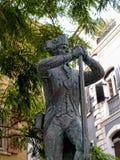 对英国战士的纪念品直布罗陀的Rck的 库存图片