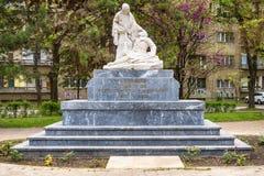 对英雄的纪念碑为1912-1918的解放和统一战斗 免版税图库摄影