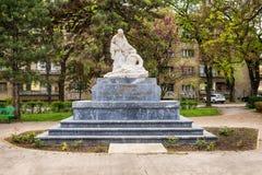 对英雄的纪念碑为1912-1918的解放和统一战斗 库存照片