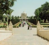 对莫卧儿建筑学,修造的了不起的例子的皇家胡同蒂普苏丹Gumbazigh 免版税库存图片