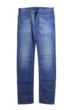 对蓝色牛仔裤 免版税库存图片