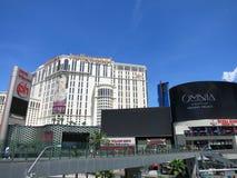 对行星好莱坞旅馆奇迹英里的步行桥与增殖比 库存图片