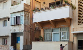对街道的看法在特拉维夫 免版税库存图片