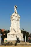 对西班牙人的纪念碑-布宜诺斯艾利斯,阿根廷 免版税库存照片