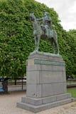 对西蒙・波利瓦的纪念碑的全国委内瑞拉英雄 免版税库存照片
