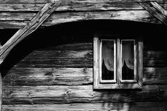 对视窗的过去 免版税库存照片